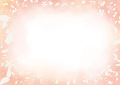Cherry blossom background 02-02