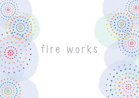 Watercolor fire