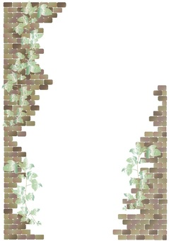Brick vertical frame
