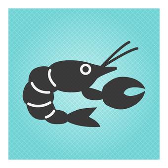 Cute icon (lobster)