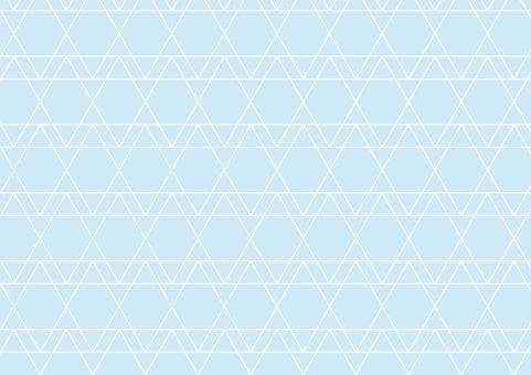 Geometric pattern (light blue)