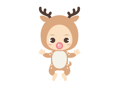 B069_Baby Clothes Baby_Deer