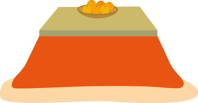 Kotatsu and oranges