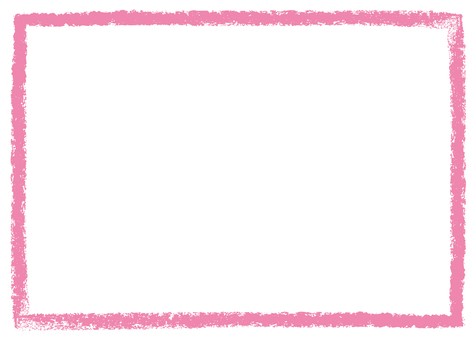 Crayon touch frame pink