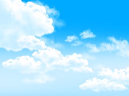 A clear sky