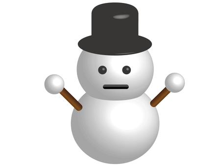 Snowman (3D)