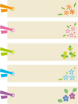 Oshi pressed flower