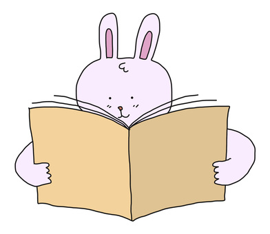 A rabbit to read