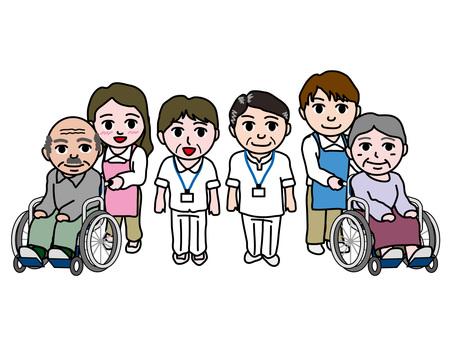 Elderly (3) Caregivers