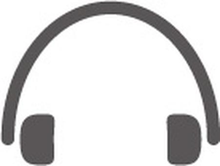 헤드폰 아이콘 소재