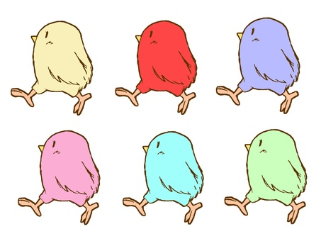 Color chicks.