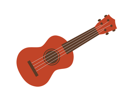 Ukulele (red-brown type)