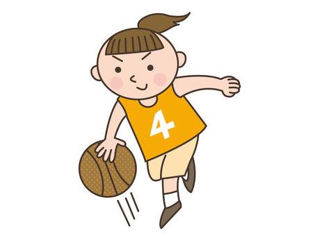 人物/子供/バスケットボール