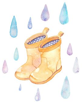 Shizuku and boots
