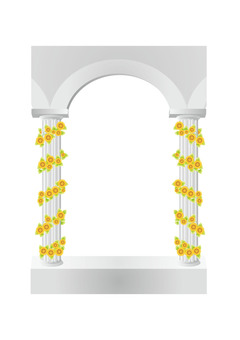 Cylinder and sunflower 3