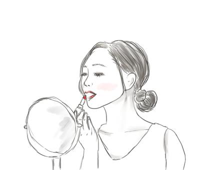 Makeup makeup woman