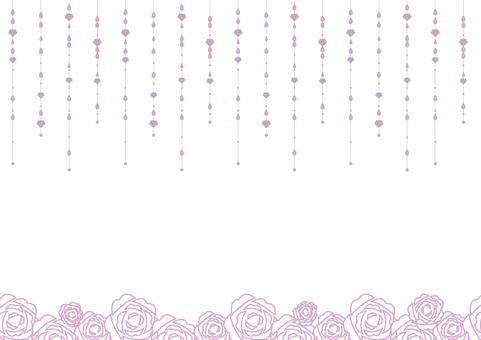 雫 background _ purple
