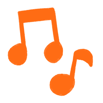 RUNRUN Fun musical note mark