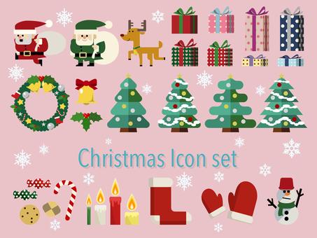 Christmas item illustration set 02