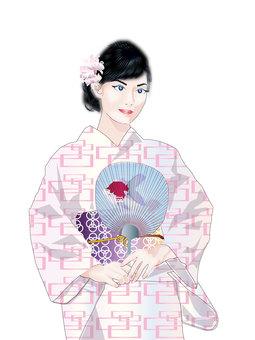 Yukata woman 15