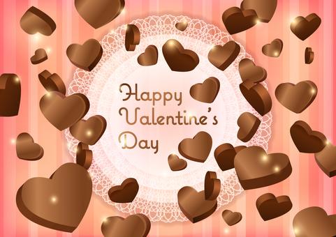 Chocolate Valentine Chocolate Heart