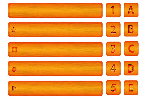 Wood board (Orange type)