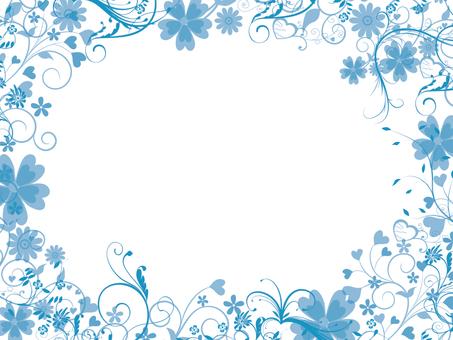Frame light blue 1