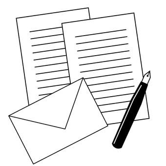 편지 (상속 · 유언 · 소식)의 이미지