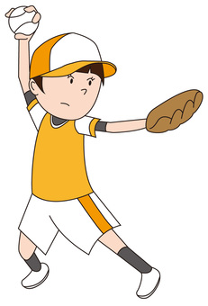 Softball girl 1
