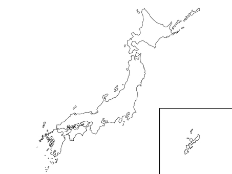 Japanese background map 2