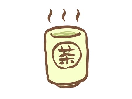 Tea cup and tea