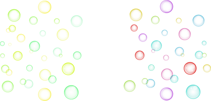 ai · 2 sets of soap bubbles