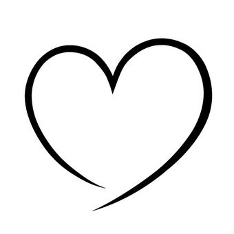Heart's line · Black 3