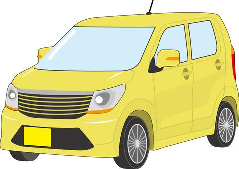 Minicar A_Yellow