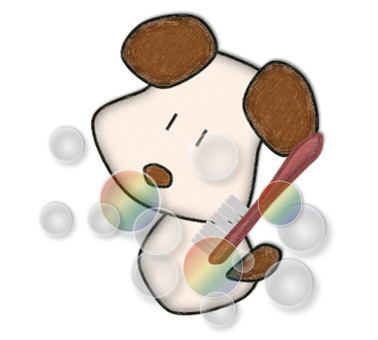 Pastel _ dog _ 18