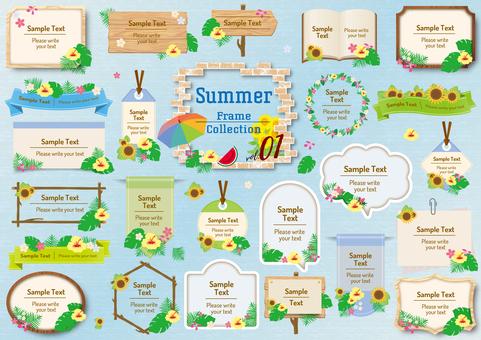 Summer frame 01
