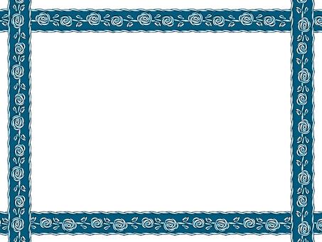 Bararone frame (blue)