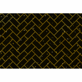 Japanese pattern background / Higaki / black gold