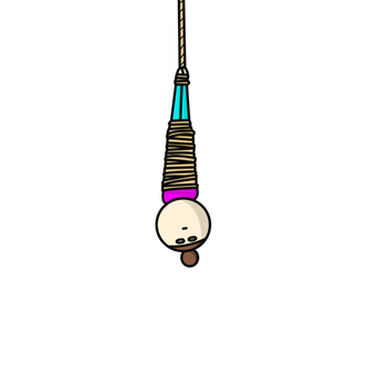 Woman hung