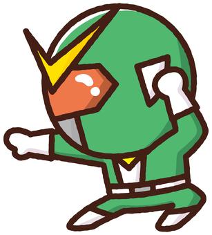 Material Sentai Five Jar <Green>