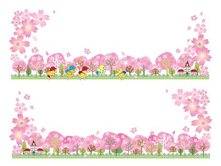 And Wood Road _ 桜