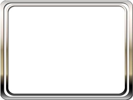 Silver frame (rounded corner)