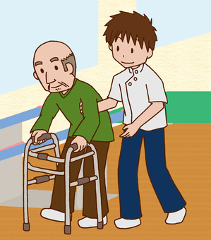 【Rehabilitation】 Rehabilitation Room / Walking Training