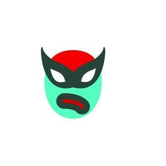 Wrestling mask 10