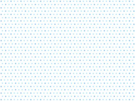 Polka dot background / hand-drawn style · blue (white background)
