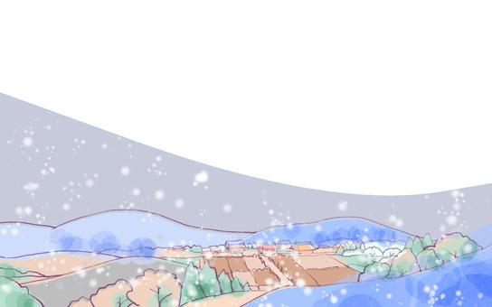 Winter landscape 3