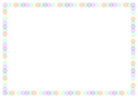 "Frame ""Polka dots"" -1"