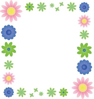 Flower 04 - frame square 01