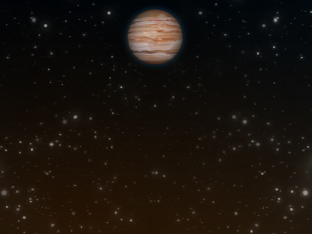 Space wallpaper Planet Jupiter ②