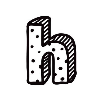 H (lower case)